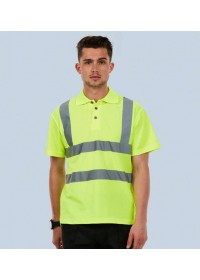 Hi Vis Polo Shirt Uneek UC805