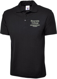 Engineering Polo shirt BLACK