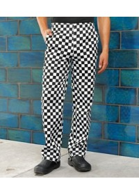 Checked Chef Trousers PR533