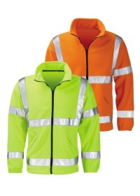 Hi Vis Fleece Jacket