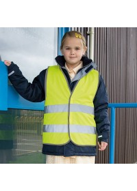 Kids Result Hi Vis Safety Vest R200J
