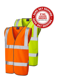 Orange hi vis safety vest