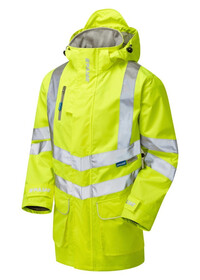 Unpadded Pulsar Breathable Hi Vis Coat P421