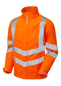 Pulsarail Orange Hi Vis Soft Shell Jacket PR535