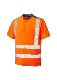 Leo Orange Hivis Performance T-Shirt