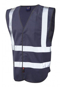 Leo Hi Vis Vest In Navy W05