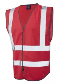 Leo Hi Vis Vest In Red W05