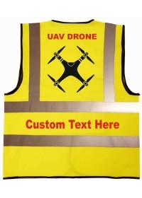 Custom Drone UAV Hi Vis Vest