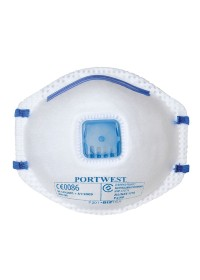 Portwest P201 FFP2 Valved Mask pack 10