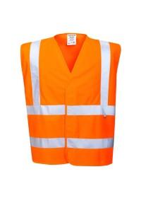 FR71 Hi Vis Anti Static Vest Flame Resistant