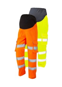 Ladies Maternity Hi Vis Trousers Leo CM01