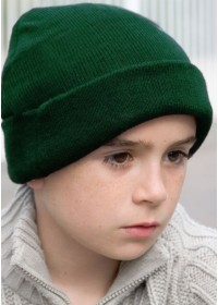 Kids Embroidered Beanie Hat