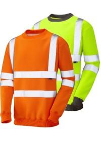 Personalised Hi Vis Sweatshirt LEO SS05