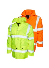 UC803 Hi Vis Safety Jacket Uneek