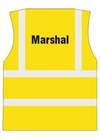 Marshal Printed Hi Vis Vest