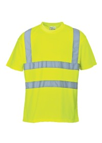 Personalised Hi Vis Tee Shirt Portwest S478