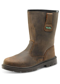 Brown Oiled Rigger Boot CTF48