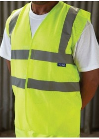 Hi Vis Mesh Safety Vest