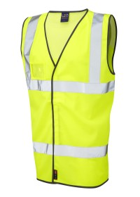 Hi Vis Vest with Mesh Shoulder Panel