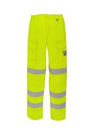 Yellow Flame Retardant Hi Vis Combat Trousers