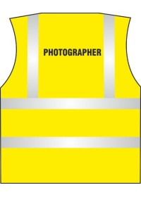 Photographer Printed Hi Vis Vest