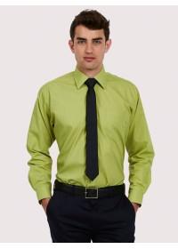 Mens Long Sleeve Poplin Shirt UC709