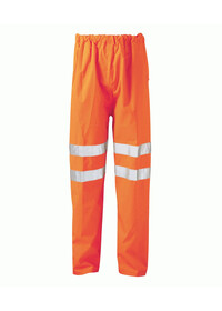 Orange Hi Vis Flame Retardant Anti Static Over Trousers