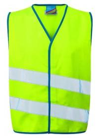 Lime Green Kids Hi Vis Vest Kids Hi Vis vest Neon Stars CW01