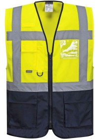 Personalised Portwest C476 Warsaw Executive Vest
