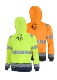 Hi Vis Two Colour  Hoodie HVTT025