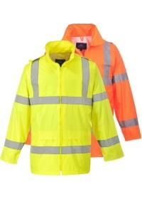 Personalised Hi Vis Rain Jacket Portwest H440