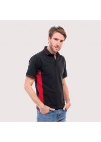 Two Colour Poloshirt Uneek UC117