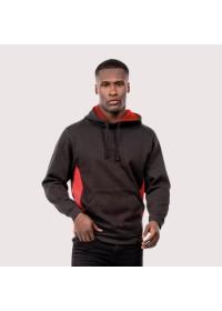 Two Colour Hooded Sweatshirt Uneek UC517