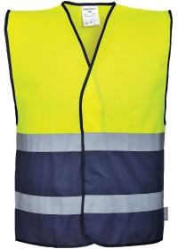 Personalised Portwest C484 Hi Vis Two Tone Vest