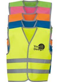 Custom Printed Kids Coloured Hi Vis Vest