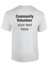 ADULTS Corona Virus - Community Volunteer T-Shirt