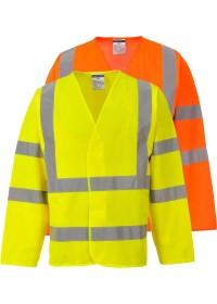 Personalised Long Sleeve Hi Vis Vest C473 Portwest