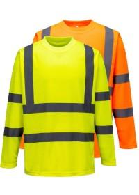 Personalised Hi Vis Long Sleeved T-Shirt S178