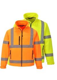 Hi Vis Classic Softshell Jacket S424 Portwest