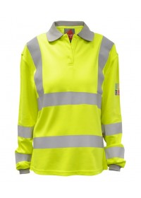 Ladies Fire Retardant & Anti Static Poloshirt