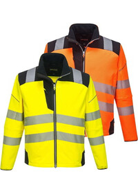 Personalised Portwest T402 Hi Vis Soft-shell Jacket