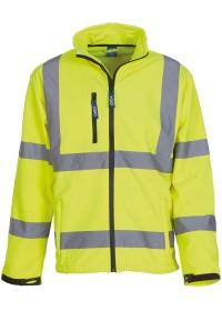 Personalised Hi Vis Softshell Jacket HVK09 Yoko