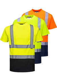 Personalised Hi Vis Two Tone T-Shirt S378
