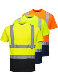 Personalised Hi Vis Two Tone T-Shirt S378