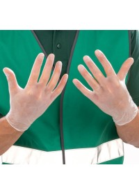 Disposable Vinyl PVC Gloves pack 100 RV010X