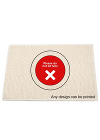 Do not sit here table placemat