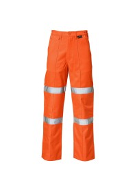 Orange HI Vis Ballistic refuse trousers