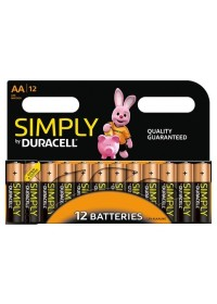 HL122 Duracell AA 12-pack