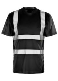 Black Hi Vis Tee Shirt
