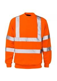 Orange Hi Vis Sweatshirt Supertouch 56881